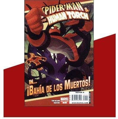 Spider-Man and the Human Torch - Bahia de los Muertos