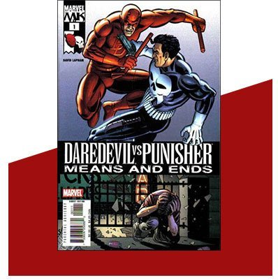 Daredevil vs Punisher: Means and Ends