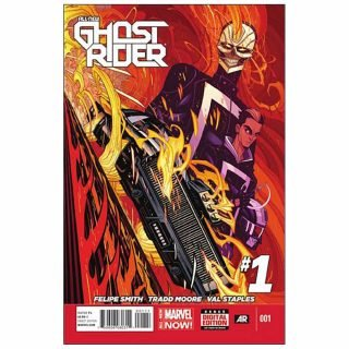 Top Ten 9th May 2019 All New Ghost Rider 1